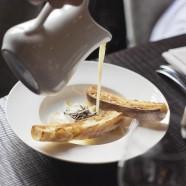 Velouté de parmesan à la truffe