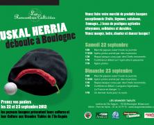 EUSKAL HERRIA déboule à Boulogne