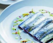 Sardines Crues en Filets marinées aux citrons confits