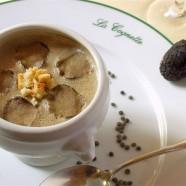 Crème de lentilles vertes du Berry aux truffes