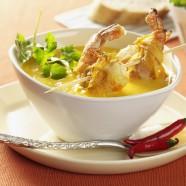 Soupe de patates douces au gingembre