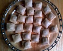 Les raviolines en pâte d'amandes