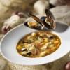 Soupe de moules et de ravioles du Dauphiné