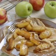 Crêpe aux pommes caramélisées au beurre