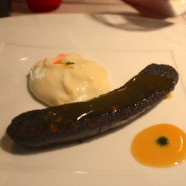 Le Plat de la Semaine – Boudin Maison, jus de fruit passion, purée de pommes de terre du restaurant Etc…