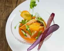 Lapin du Poitou dans sa gelée de carottes aux Pruneaux d'Agen