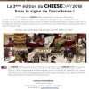 La 3ème édition du Cheese Day 2018