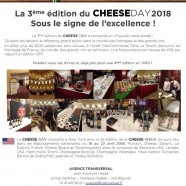 La 3ème édition du Cheese Day 2018