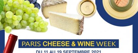 Paris Cheese & Wine Week 9-11 septembre 2021