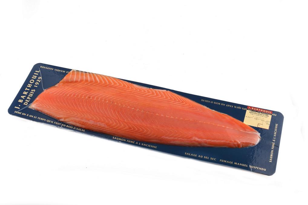 Les tests produits de gourmets co les saumons fum s - Prix du saumon ...