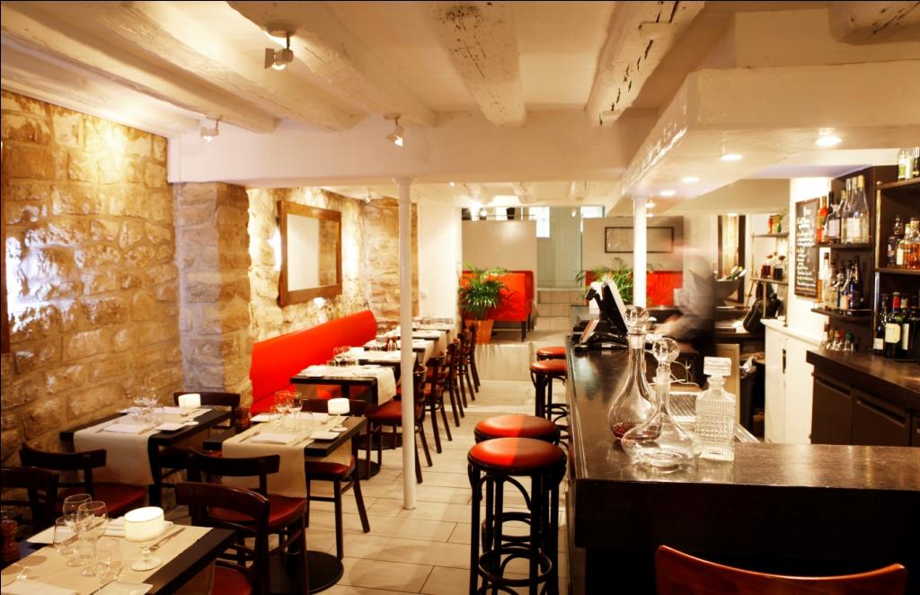 Chez guillaume gourmets co for Interieur restaurant