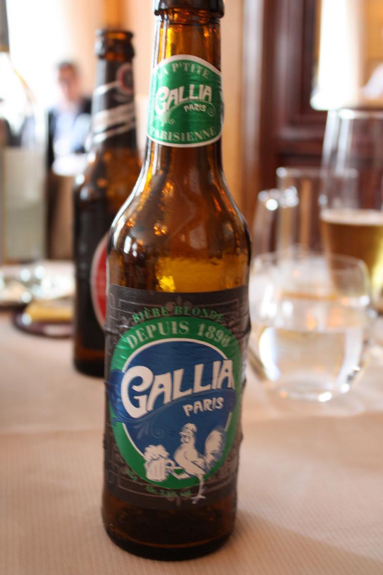 Bière artisanale Gallia