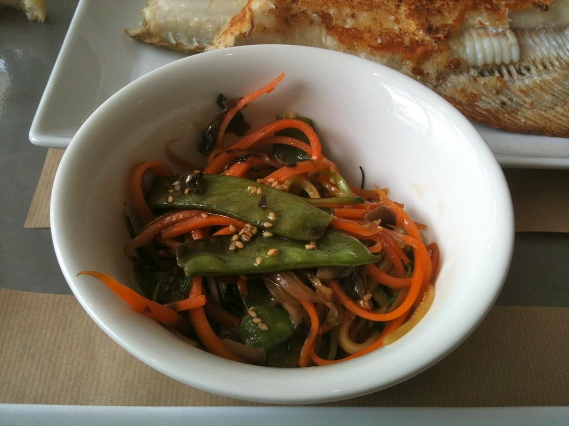 Légumes à la plancha © Blandine Vié