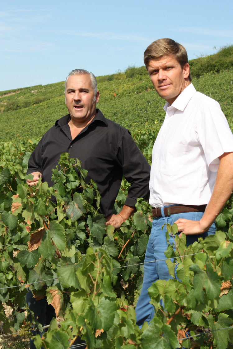 Denis Mery (à g.) et Frédéric Drouhin © P.Faus