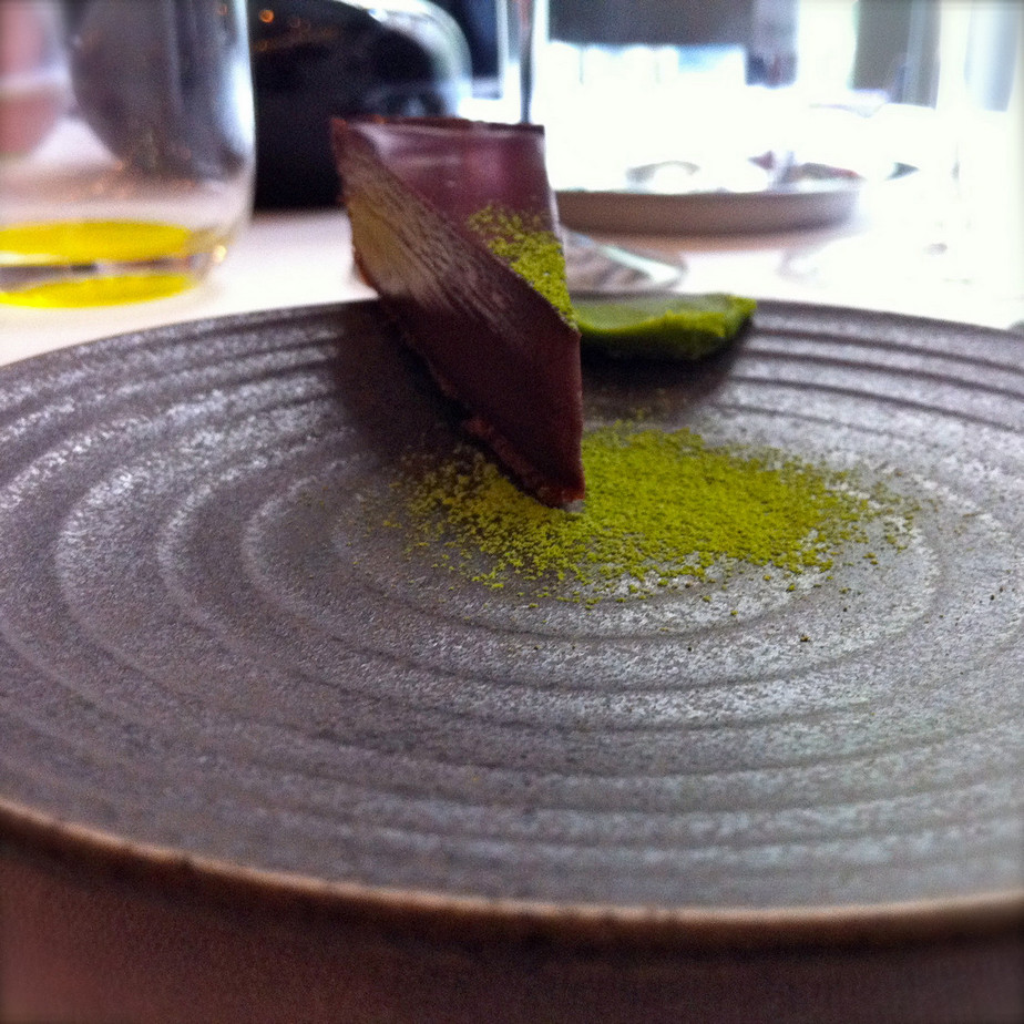 La Bigarrade - Tarte chocolat&thé matcha