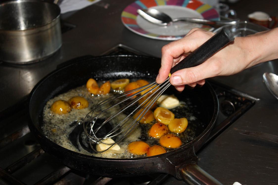 Mirabelles poêlées au beurre