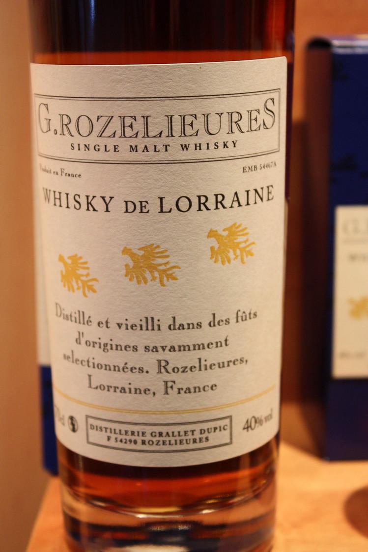 Whisky vieilli en fûts de Jerez