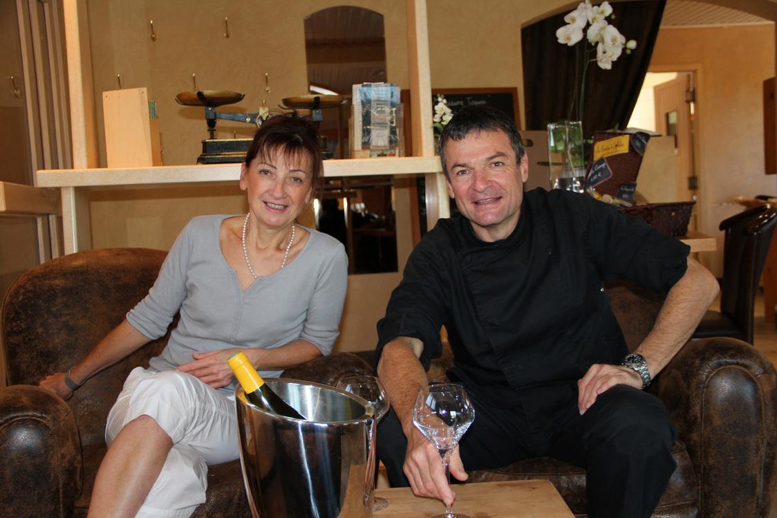 Patrick Brocart et sa femme