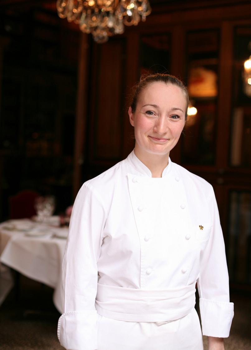 Virginie basselot au saint james gourmets co for La cuisine de virginie