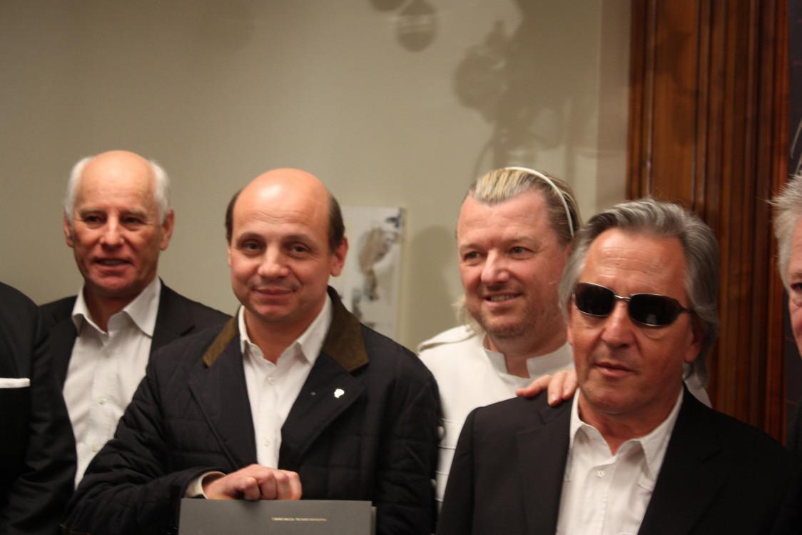le chef Eric Briffard, lauréat du prix Philippe Bohrer 2012 © P.Faus