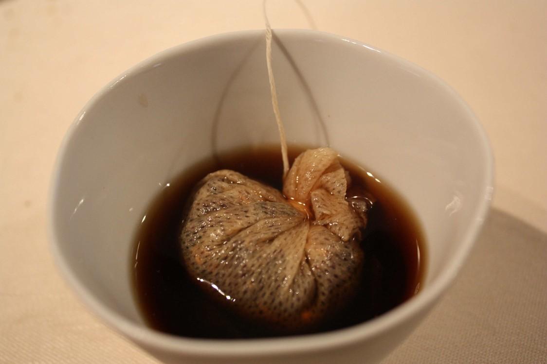 Thé de champignons