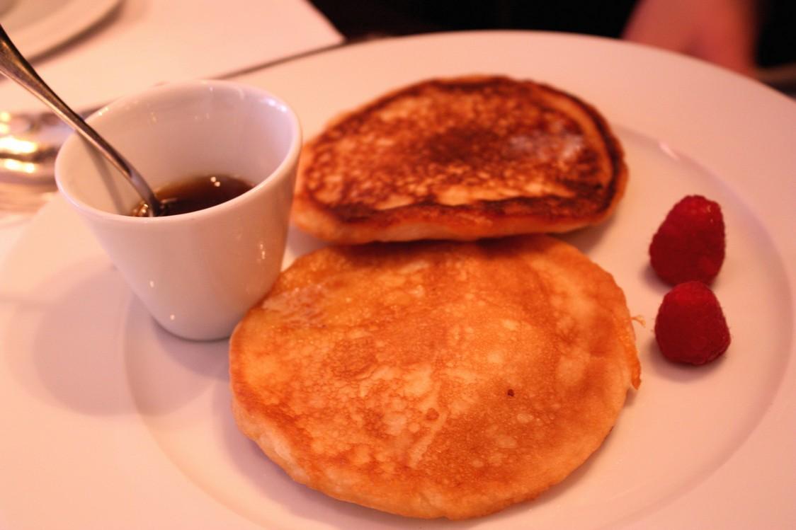Pancakes, sirop d'érable