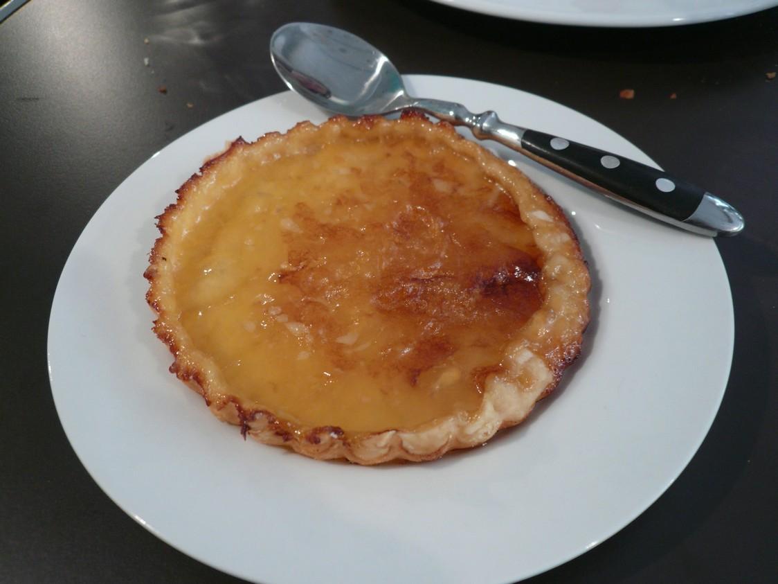 Restau Eh Oui!!! assiette tarte citron