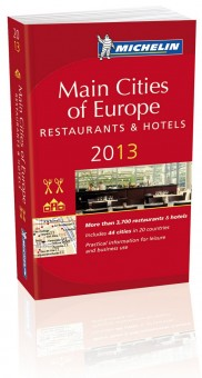 Main Cities of Europe - Restaurants & Hotels - Michelin 2013