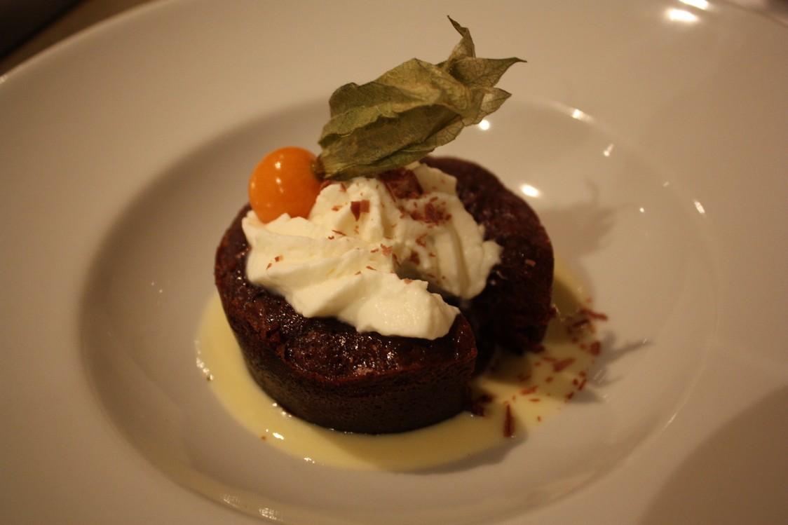 Auberge Coté Jardin - Coulant au chocolat
