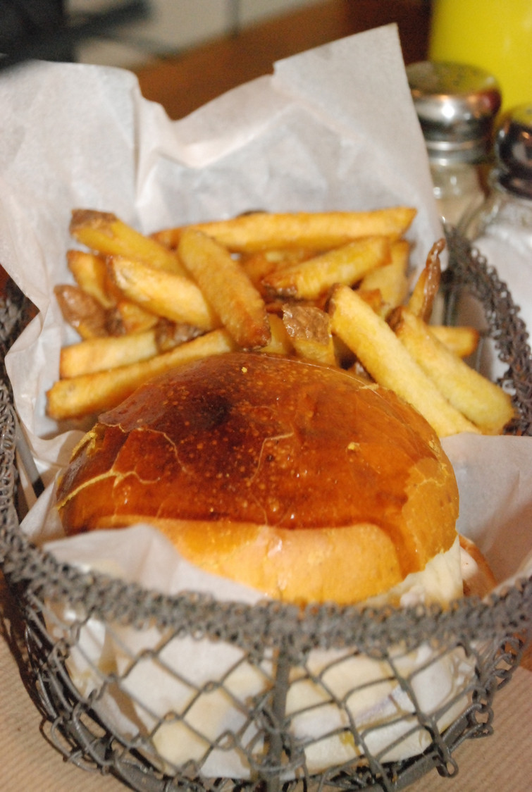 Diner - Hamburger panière