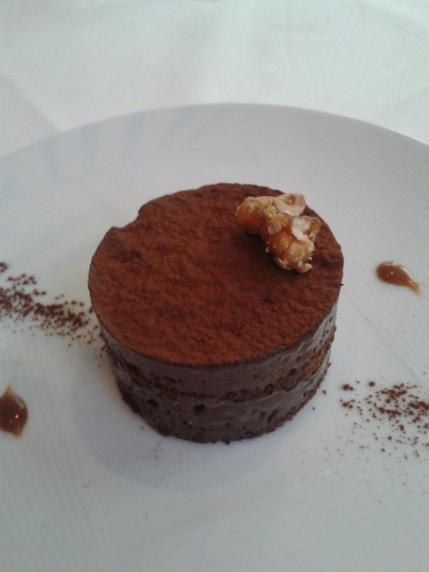 Jarasse - Gâteau choco-noisettes caramélisées