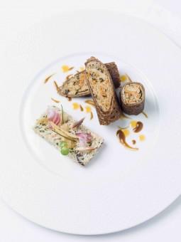 Jarrasse - Tourteau décortiqué et galette de blé noir
