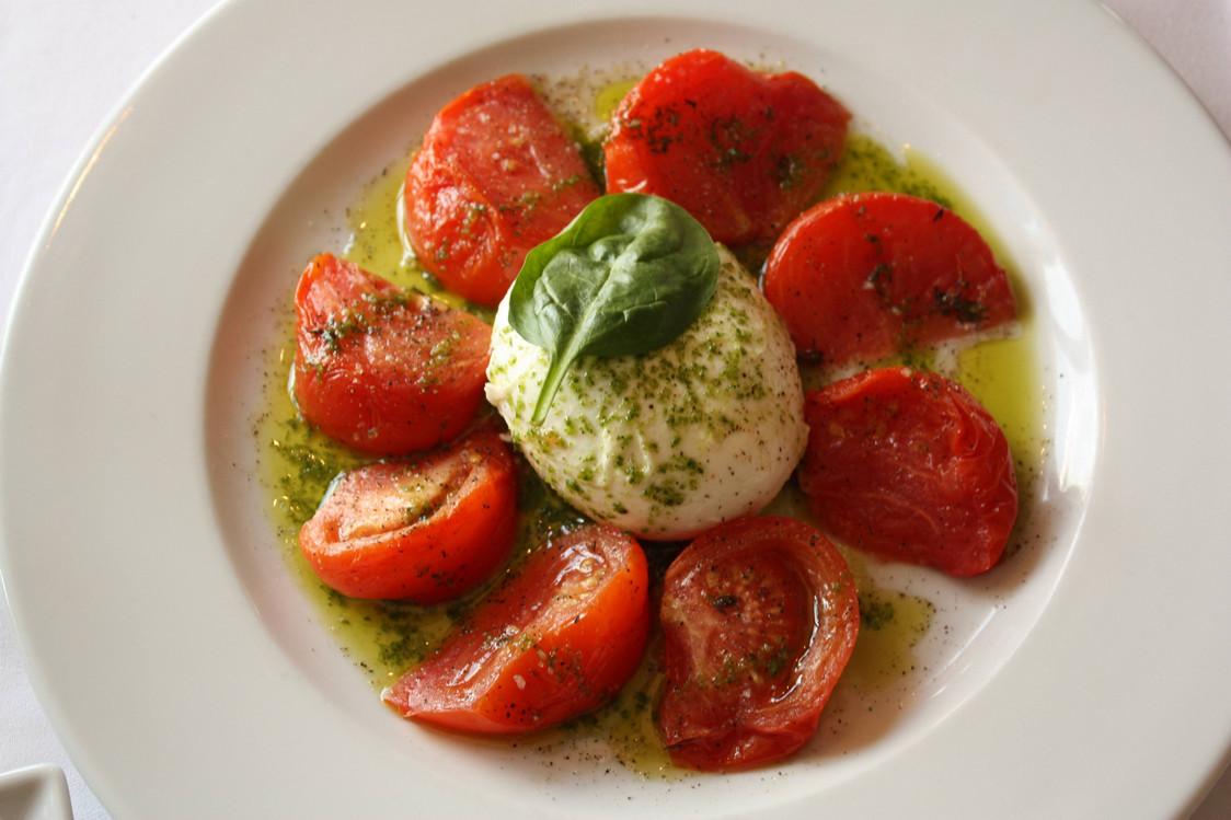 Les Grandes Marches - Tomates, mozarella, basilic