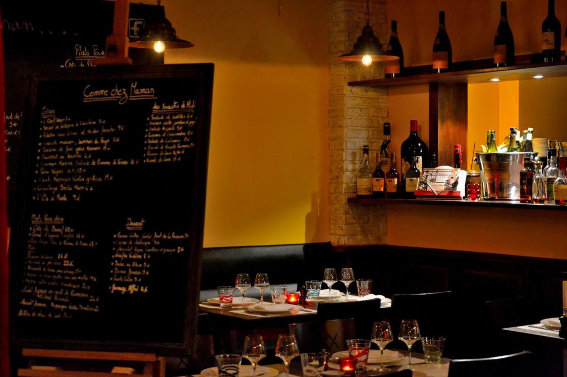 Comme chez Maman - Hôtel Edouard 7 - Chef Christophe Hay et son second