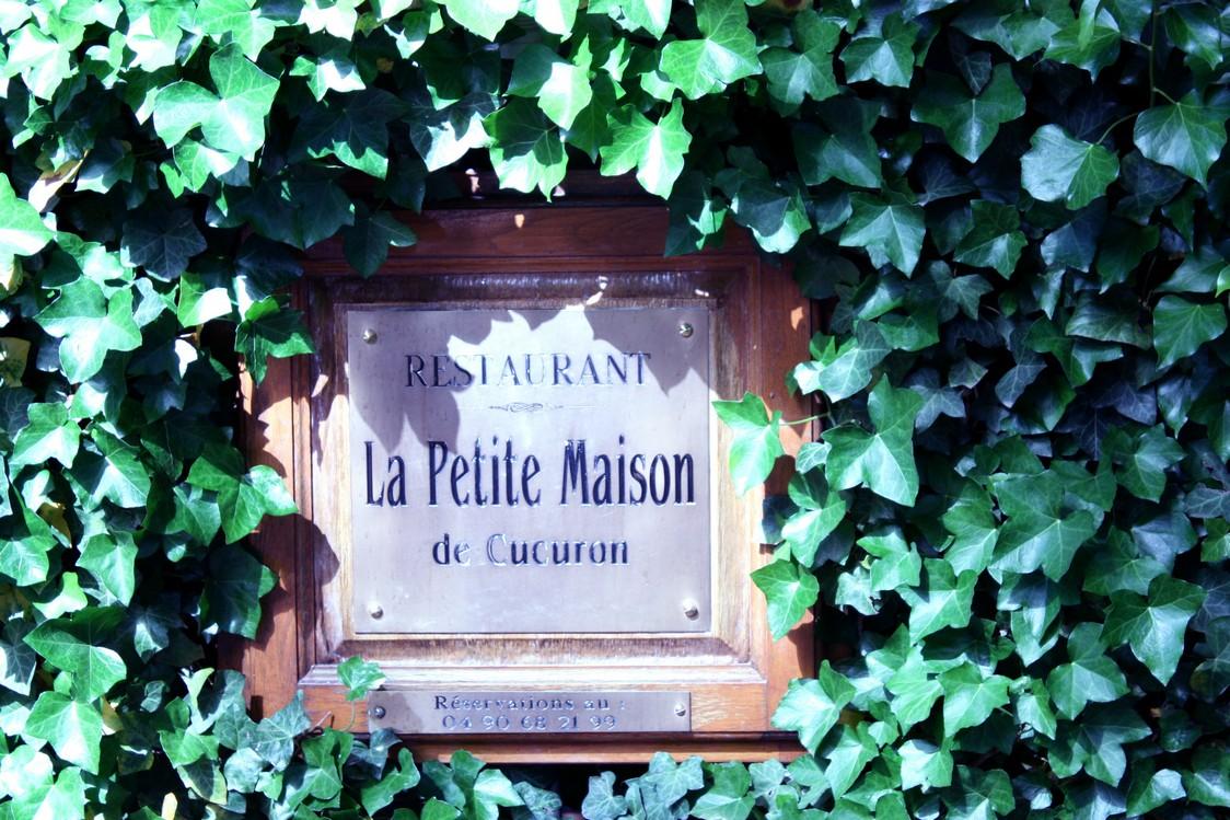 La Petite Maison de Cucuron - Enseigne