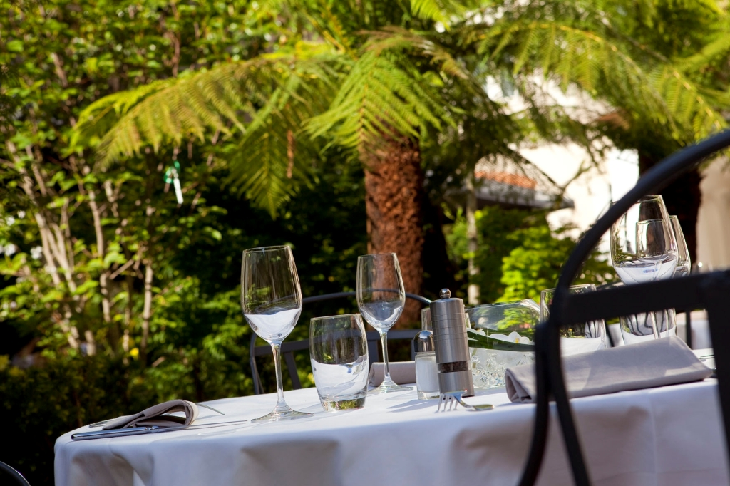 Le Relais du Parc - Terrasse du restaurant