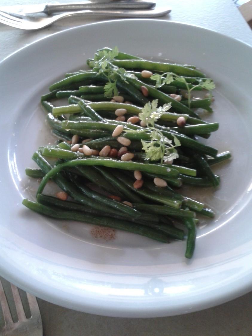 Ma Cocotte - Haricots verts en salade et pignons
