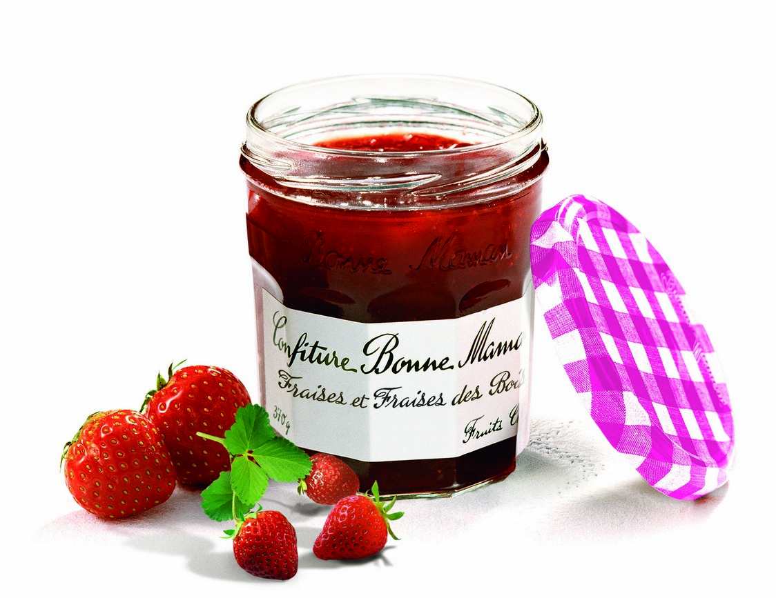 Duos de fruits gourmets co - Pots de confiture vides bonne maman ...