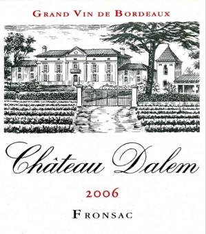 Château Dalem - Etiquette