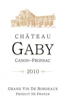 Château Gaby - Etiquette