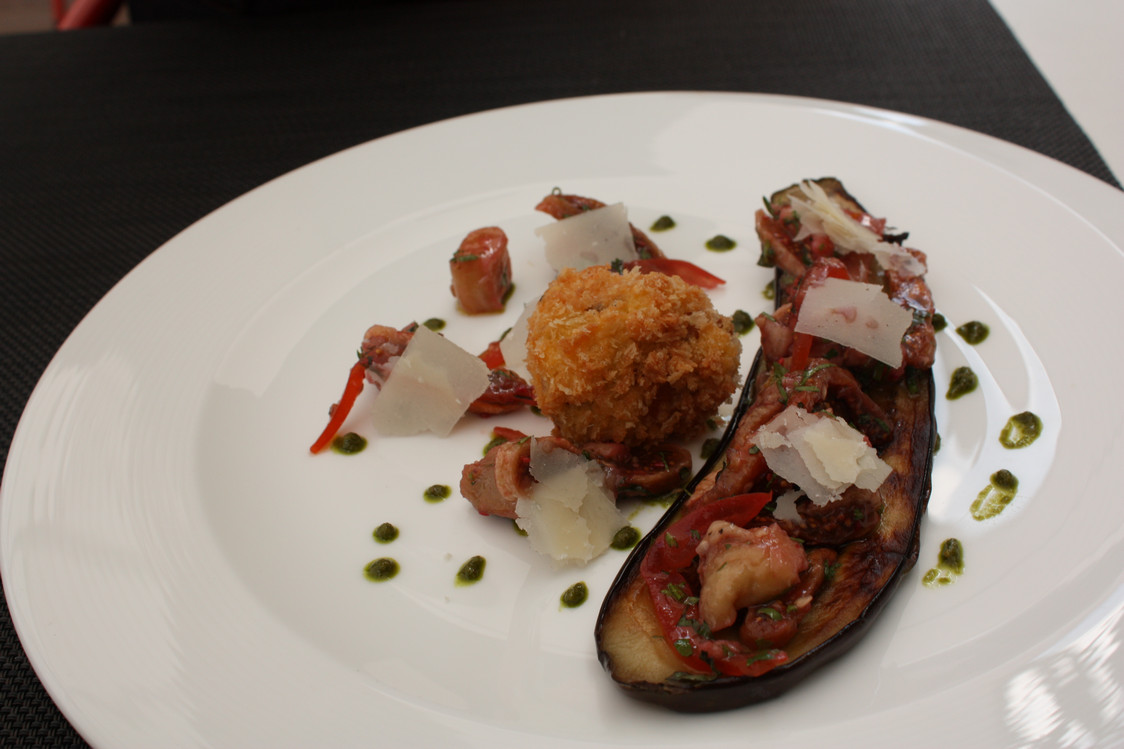 L'Opéra Restaurant - Caponata d'aubergine