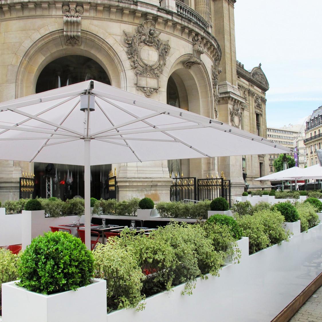 L'Opéra Restaurant - Nouvelle terrasse de L'Opéra Restaurant vue extérieure