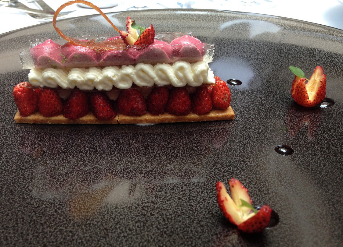 La Table du Lancaster - Dessert ©Olivia Goldman