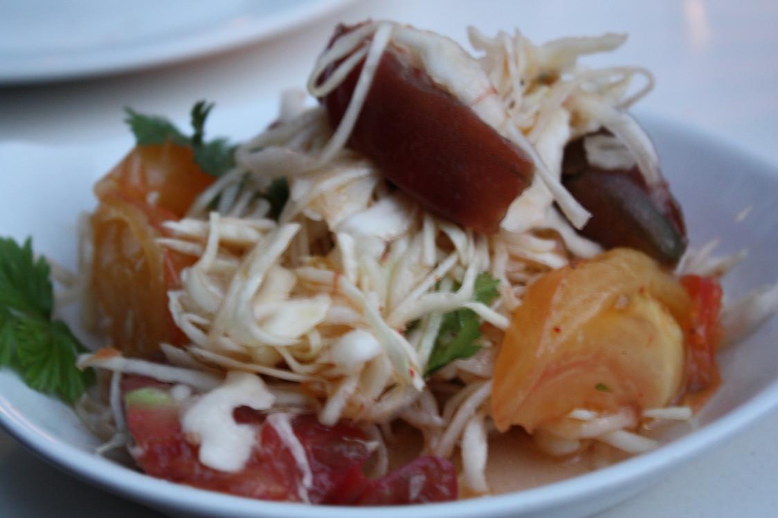 Mama Shelter - Coleslaw, tomates