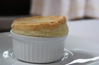 Restaurant Laurent - Soufflé chaud au thym-eucalyptus