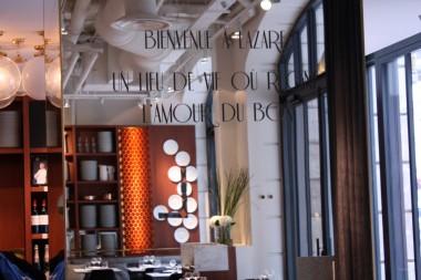 Restaurant Lazare - Façade