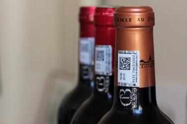 Sticker sur cols de bouteilles - Crus Bourgeois millésime 2011