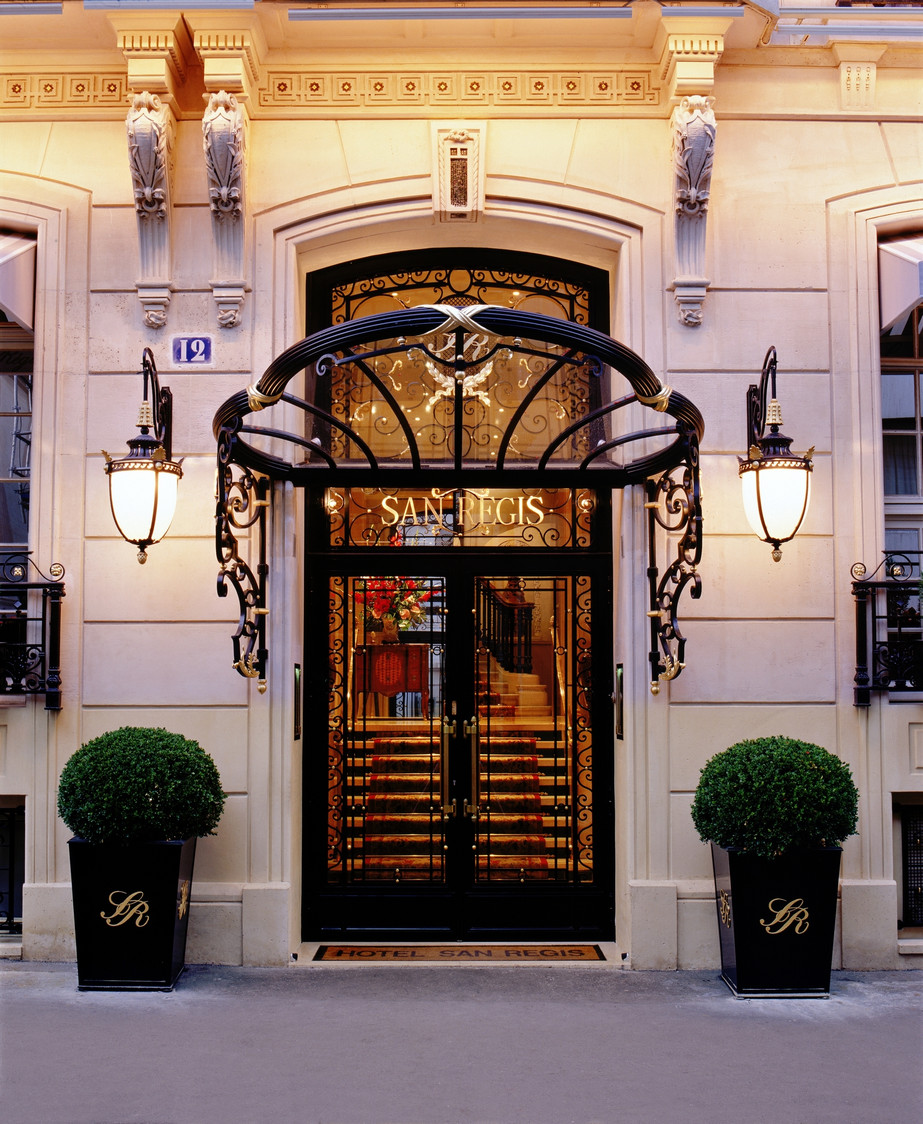 H tel san r gis gourmets co for Hotel discret paris