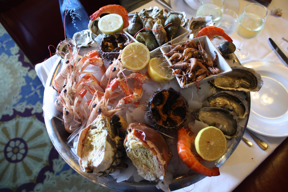 Restaurant Sur Bordeaux Fruit De Mer