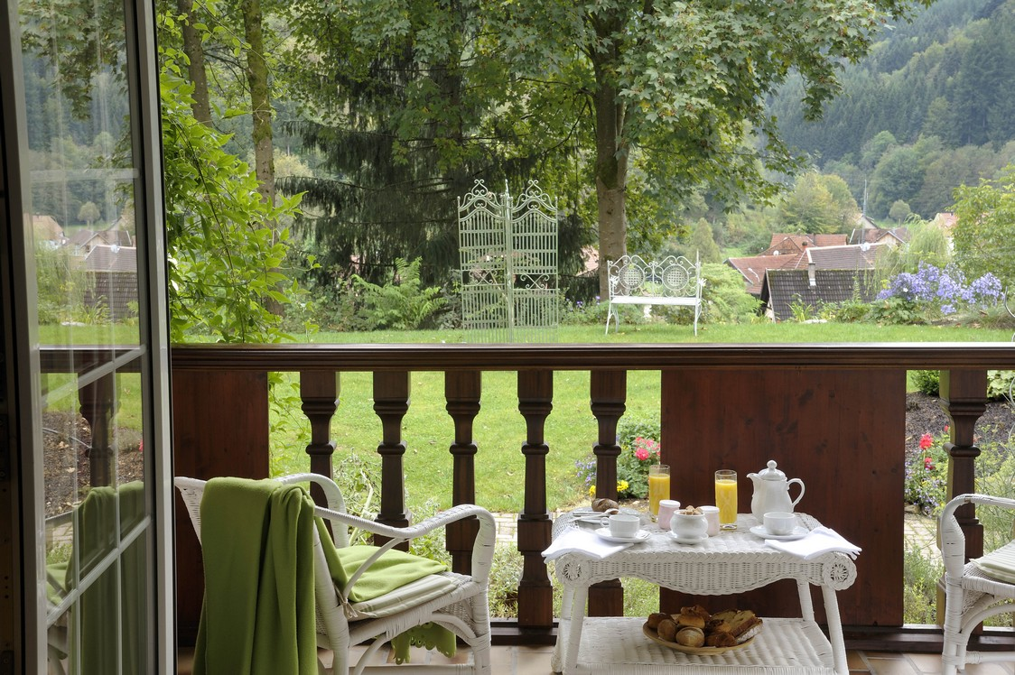Petit-dejeuner - Hostellerie la Cheneaudiere ©Jo Pesendorfer